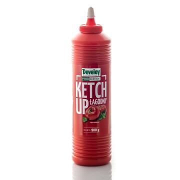 Ketchup łagodny 900g DEVELEY
