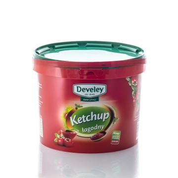 Ketchup łagodny wiadro 5500g DEVELEY