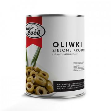Oliwki zielone cięte 3,05kg Let's Cook
