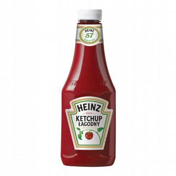 Ketchup łagodny 875 ml 8* HEINZ