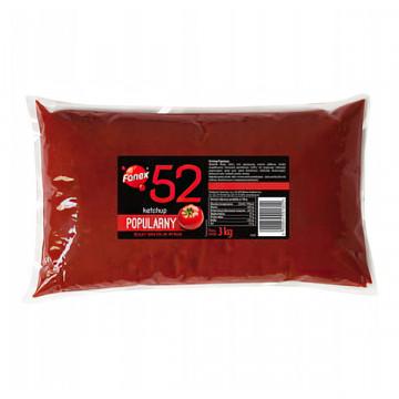Ketchup popularny folia 3000g FANEX