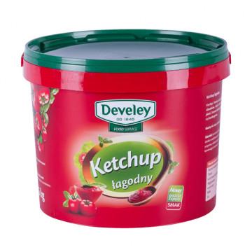 Ketchup łagodny gastronomiczny 5 kg wiadro TARSMAK