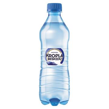 Woda Kropla Beskidu gazowana, butelka PET 500ml